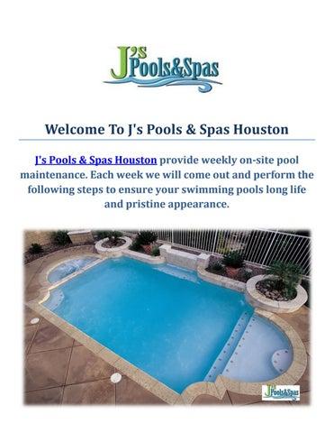 Swimming Pool Builders : J\'s Pools & Spas Houston, TX by J\'s ...