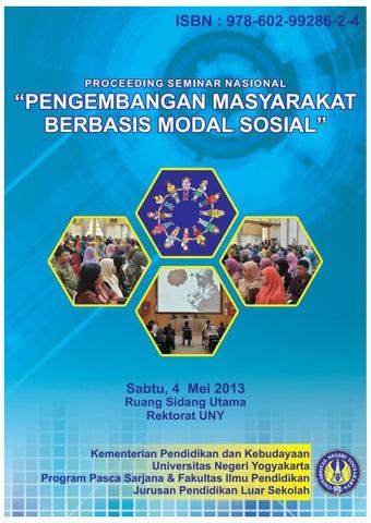 Prosiding Semnas Modal Sosial By 14102241047 Dina Nur Anggraeni Issuu