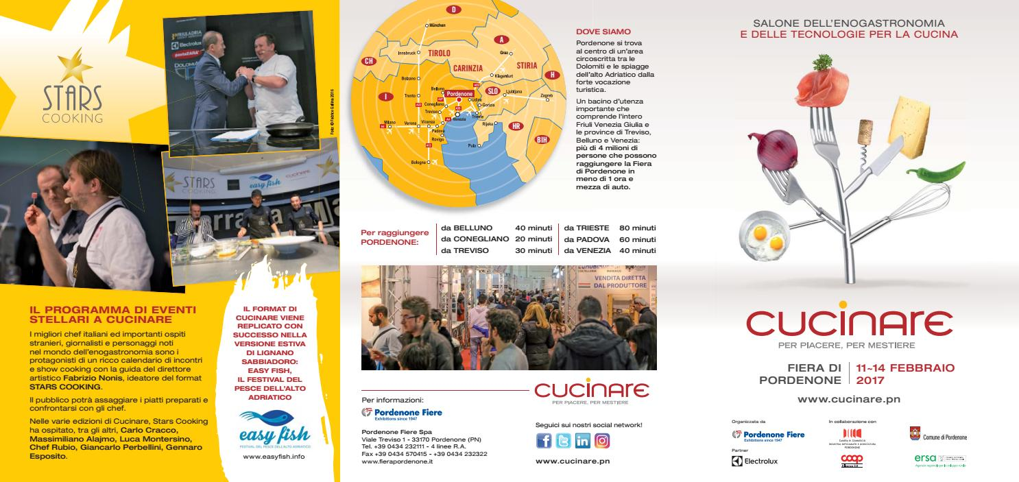 cucinare 2017 brochure by fiera cucinare issuu