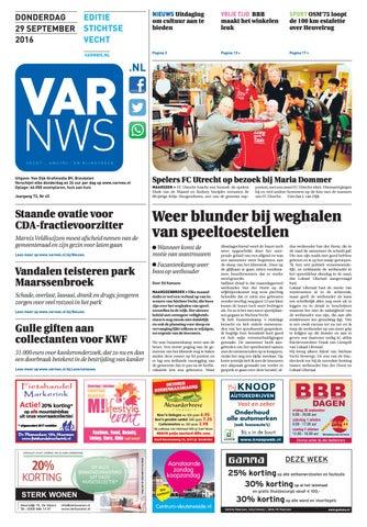 VARnws Stichtse Vecht 29 september 2016 by VARnws - issuu