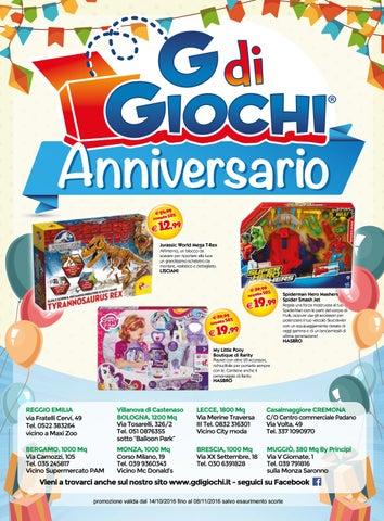 Volantino anniversario G di Giochi e Halloween 2016 by G di Giochi ... e18289303a88