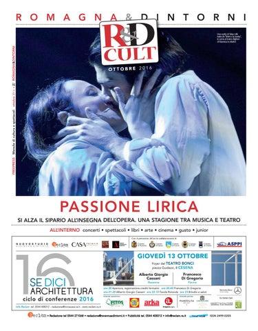 Rd Cult 2016 10 By Reclam Edizioni E Comunicazione Issuu