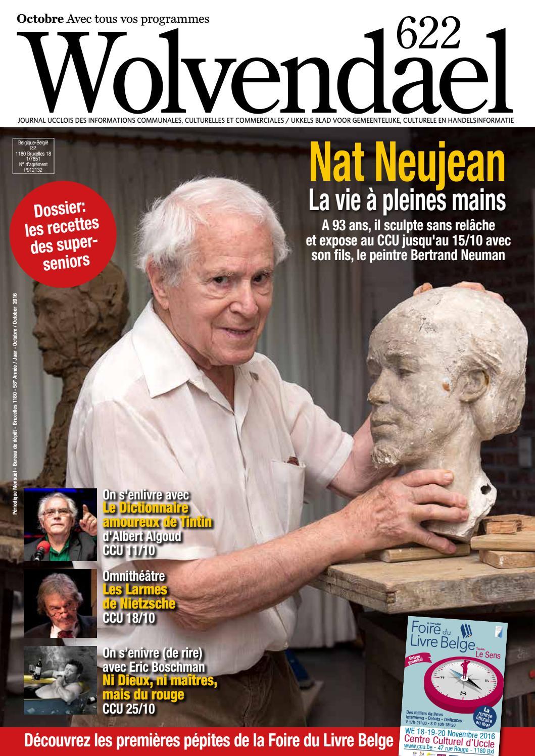 Wolvendael Magazine N 615 Janvier 2016 By Centre Culturel Duccle