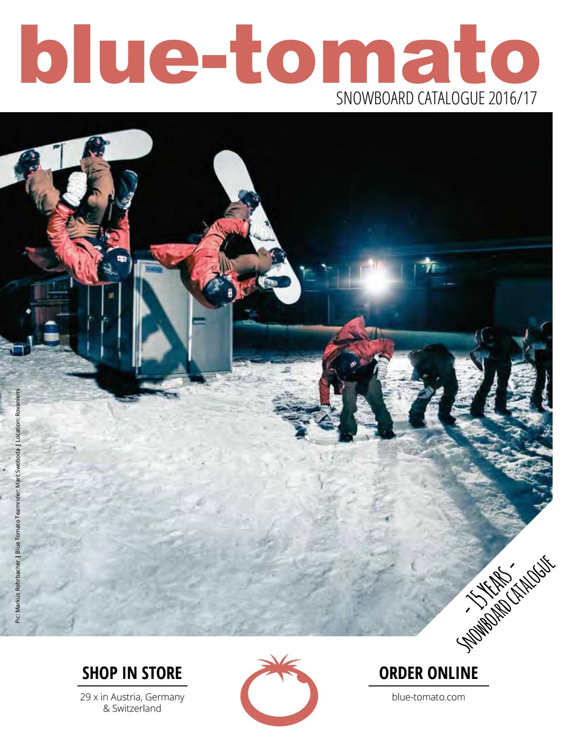 8f7fe462de5 Blue Tomato Snowboard Catalogue 2016 17 by Blue Tomato - issuu
