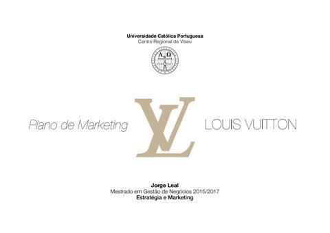 a4ea2e6e1a Page 1. Universidade Católica Portuguesa Centro Regional de Viseu. LOUIS  VUITTON