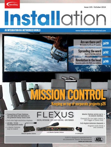 5677156b0e8 Installation October 2016 Digital Edition by Future PLC - issuu