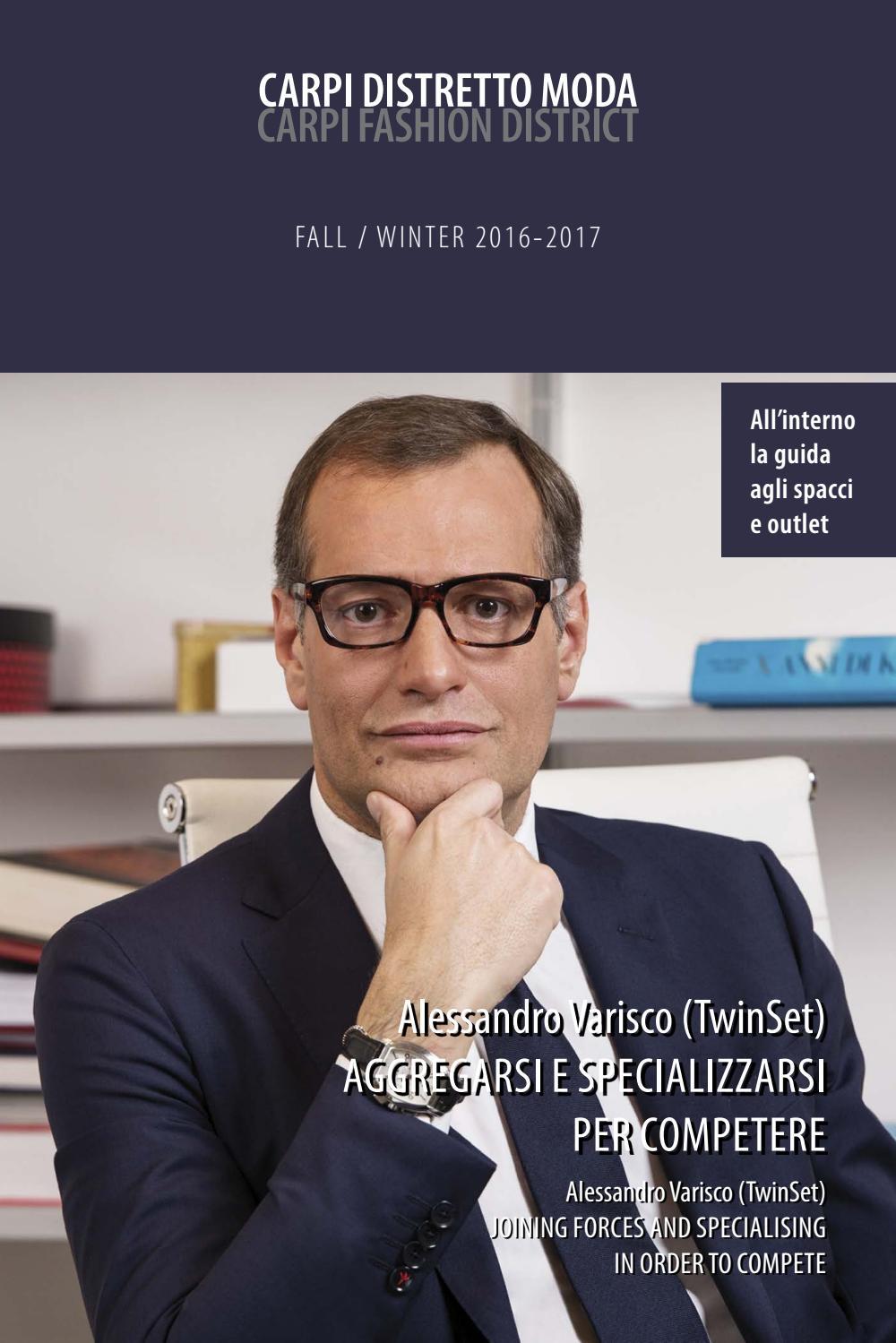 Carpi Distretto Moda FallWinter 2016 2017 by Voce di