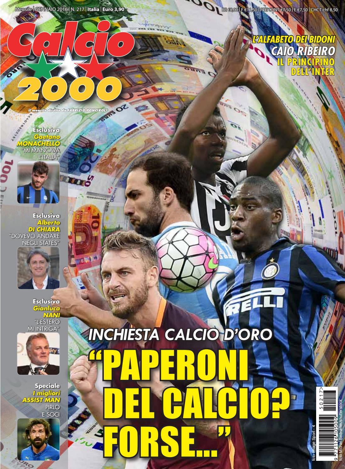 Calcio2000 n.217 by TC C SRL - issuu 6590c45e070c