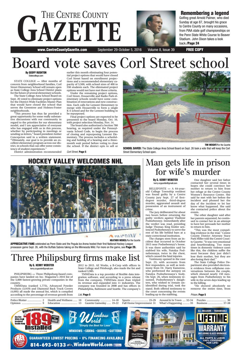 3f55ddea9b6 Centre County Gazette