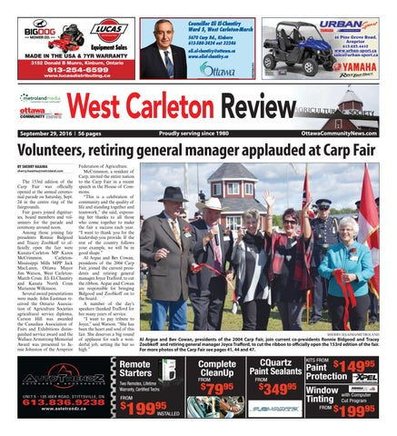 23312dafc1e58b Westcarleton092916 by Metroland East - West Carleton Review - issuu
