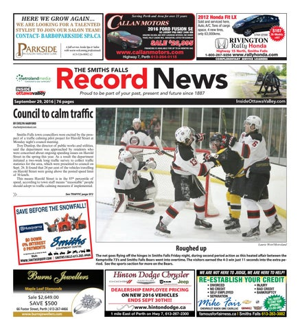 a90d33cd9ae Smithsfalls092916 by Metroland East - Smiths Falls Record News - issuu