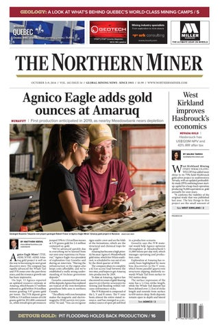 165 Niocorp Appoints Mr Mark A Smith  >> The Northern Miner October 3 2016 Issue By The Northern