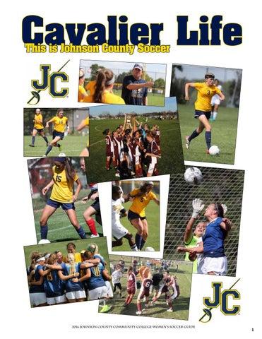 70bb95bfc 2016 JCCC Women s Soccer Guide by Chris Gray - issuu