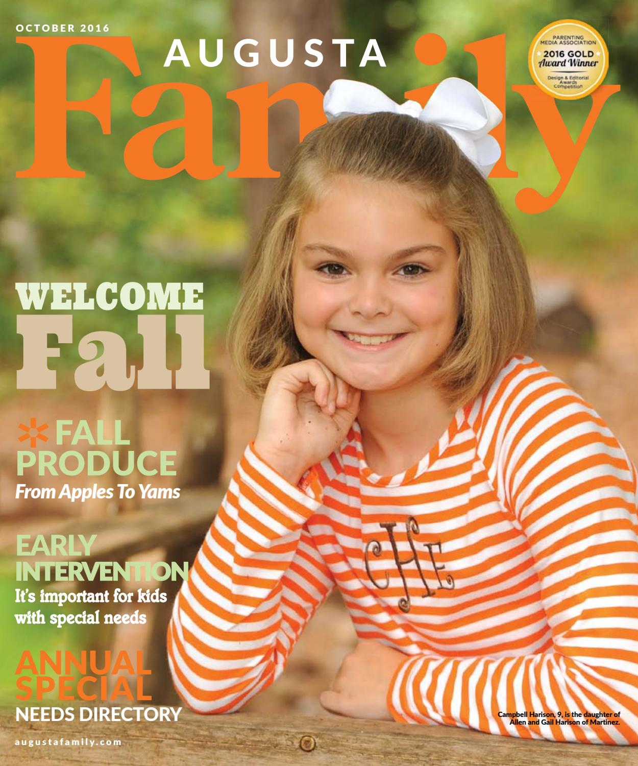 Augusta Family Magazine October 2016 by Augusta Family