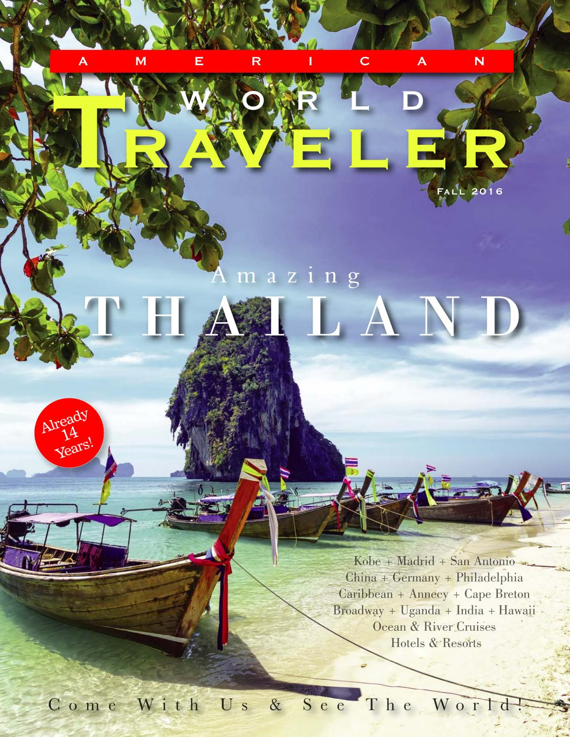 American World Traveler Fall 2016 issue by www