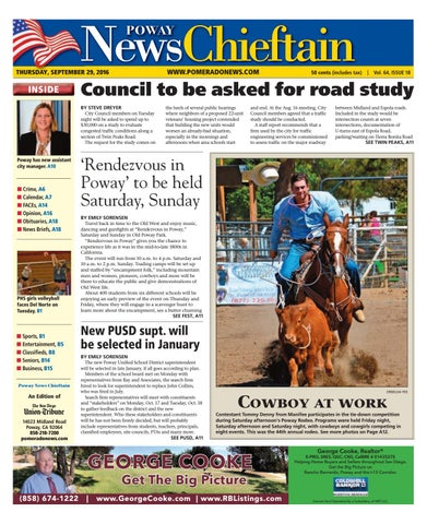 Poway news chieftain 09 29 16