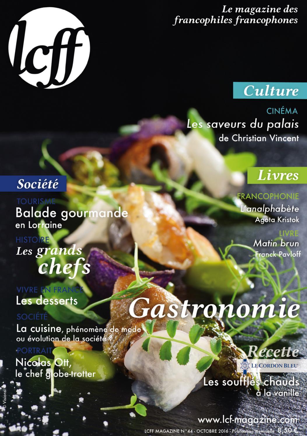 Lcff Magazine N 44 Gastronomie By Lcff Issuu