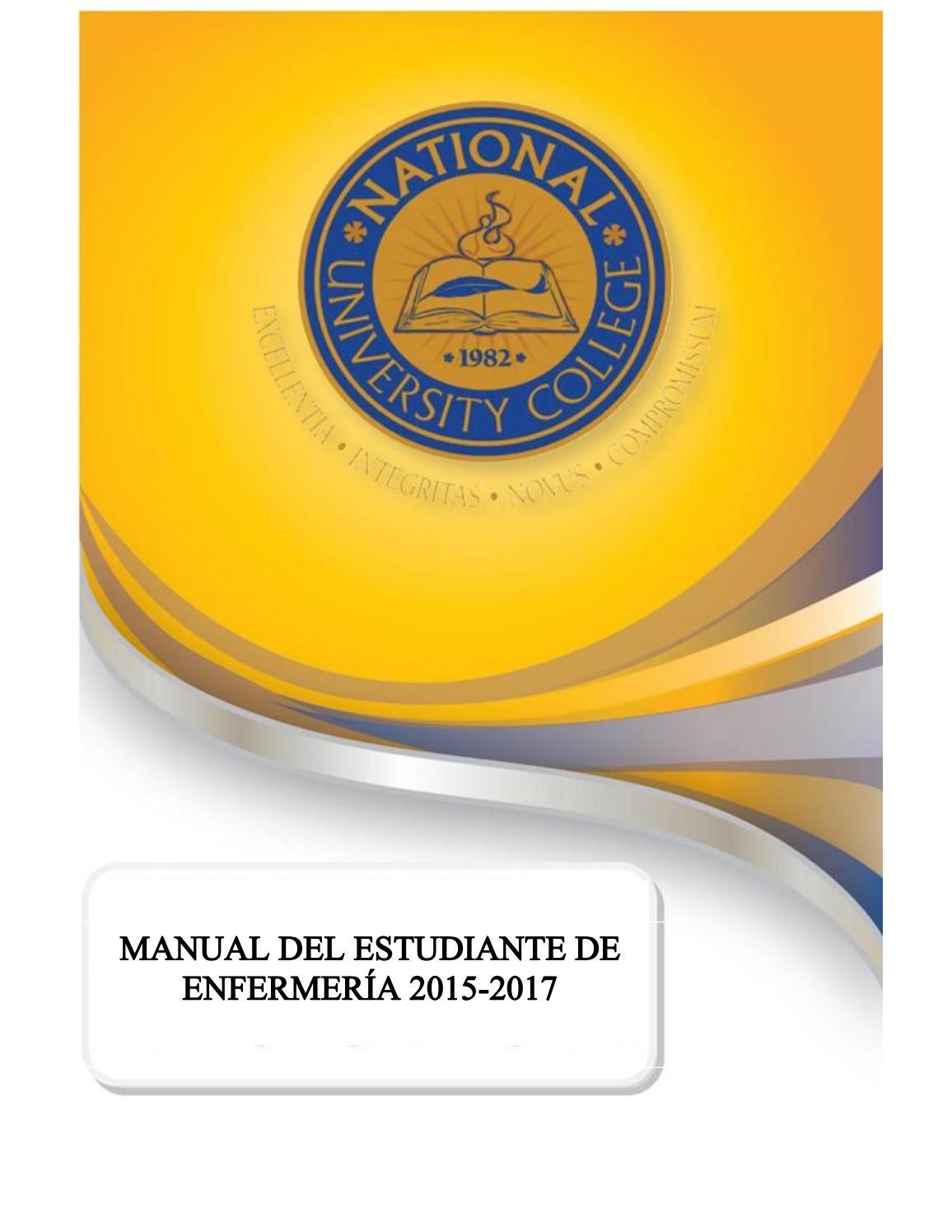 NUC - Manual de enfermería 2015-2017 by Ana Milena - issuu