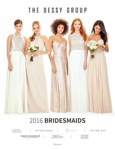 301616756412 Dessy Bridesmaid Dresses 2016 by Paul Roy - issuu