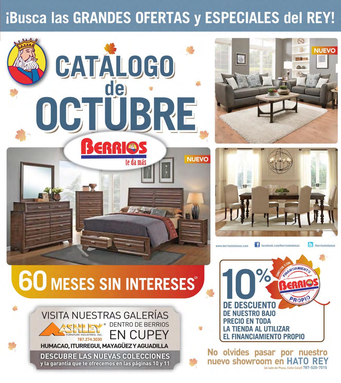 Mueblerias Berrios | Shopper Catálogo De Octubre By Berrios   Issuu