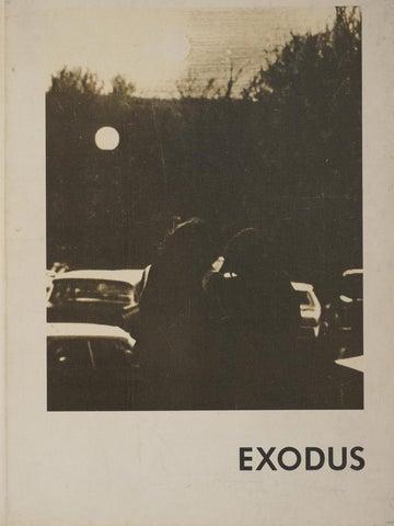EXODUS 1972 (Yearbook) by Rhode Island College: Digitial