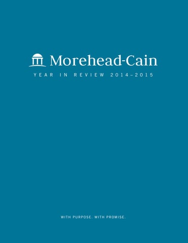 2014–2015 Year in Review by moreheadcain - issuu