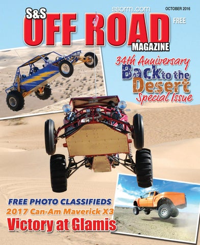 S&S Off Road Magazine October 2016 by S&S Off Road Magazine