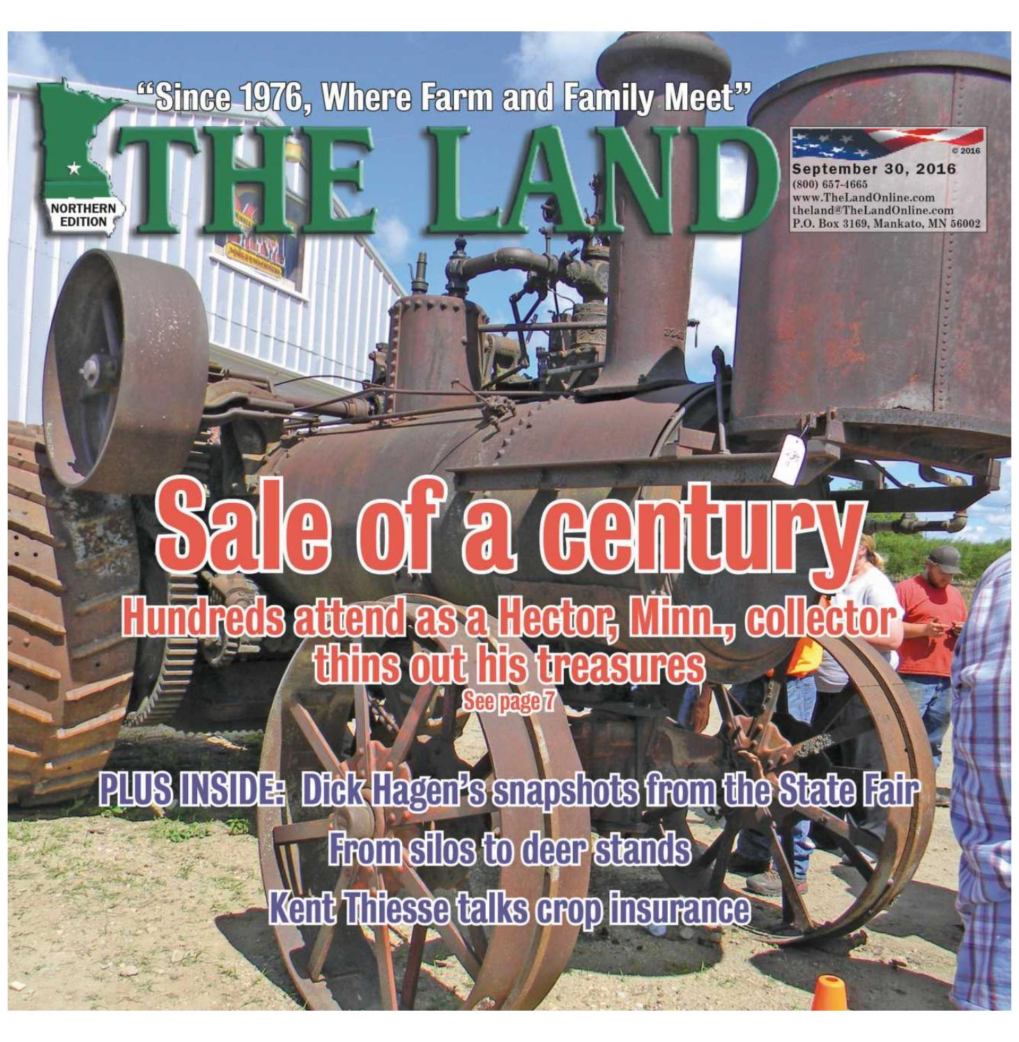 THE LAND ~ Sept  30, 2016 ~ Northern Edition by The Land - issuu