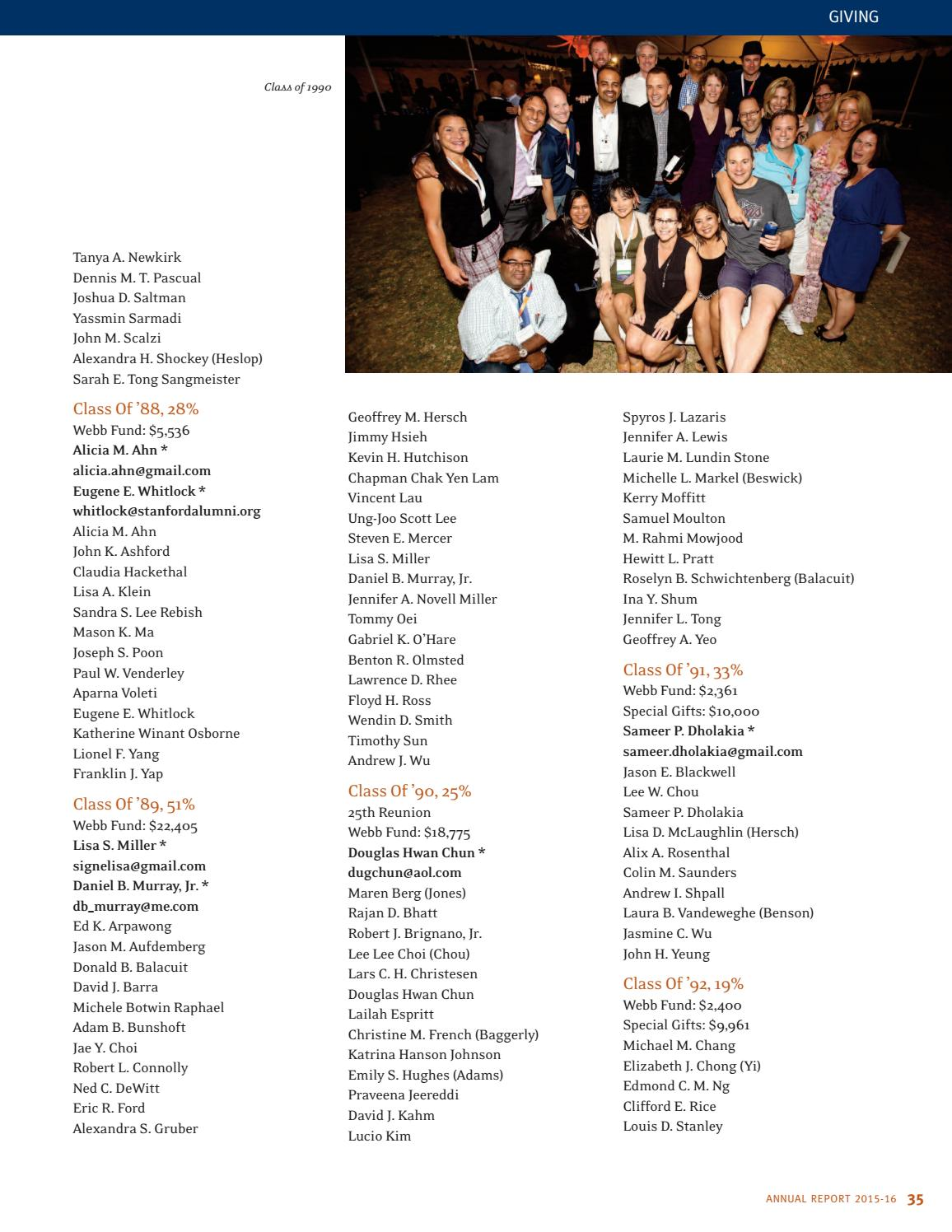 The Webb Schools Annual Report 2015-2016 by The Webb Schools