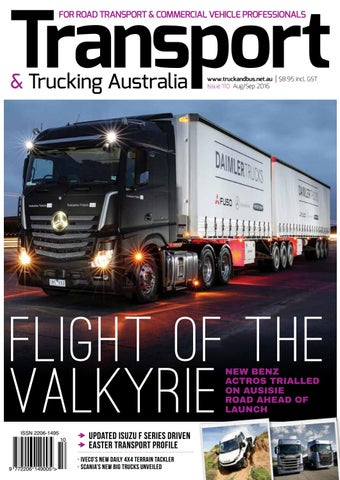 Transport & Trucking issue 110 by Transport Publishing