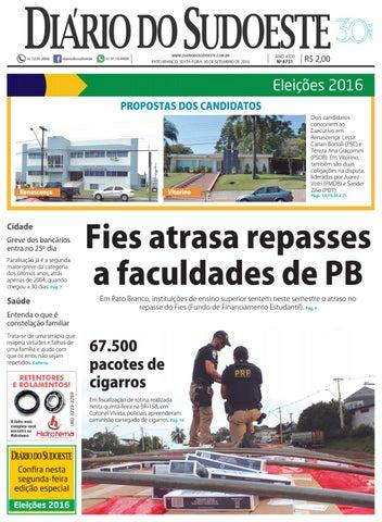 Diário do sudoeste 30 de setembro de 2016 ed 6731 by Diário do ... 58d08840aee40
