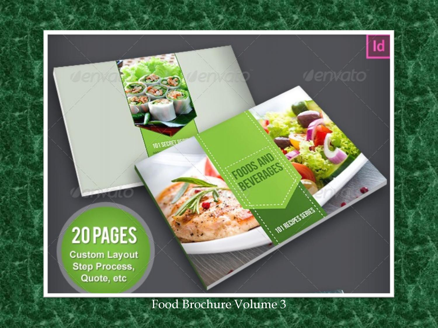 19 Contoh Brosur Produk Makanan Template Download By Masbadar Issuu
