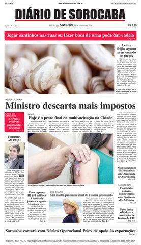 462b9ffe038 Edição de 30 de setembro de 2016 by DIÁRIO DE SOROCABA - issuu