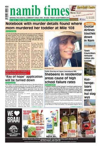 30 September Namib Times E Edition By Namib Times Virtual Issuu