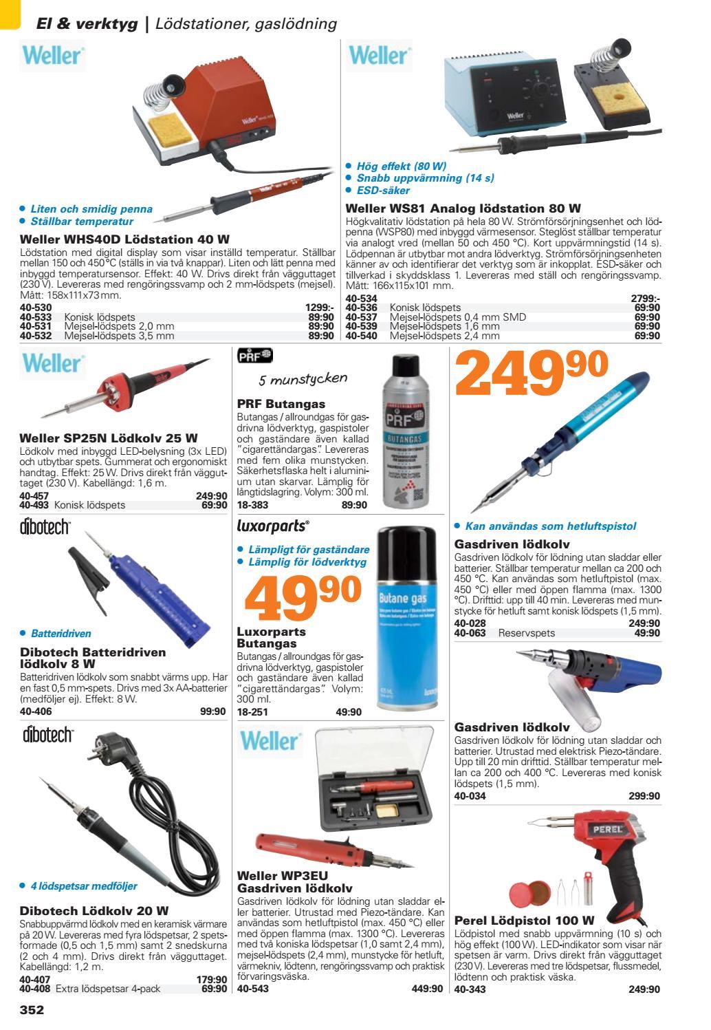 Unika Kjell & Company Katalog 44 Sverige - Kapitel 4: El och verktyg by DV-66