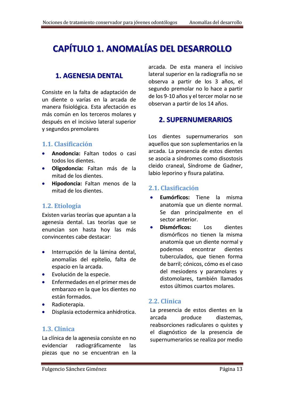 Nociones de tratamiento conservador by Carolina Arroyo - issuu