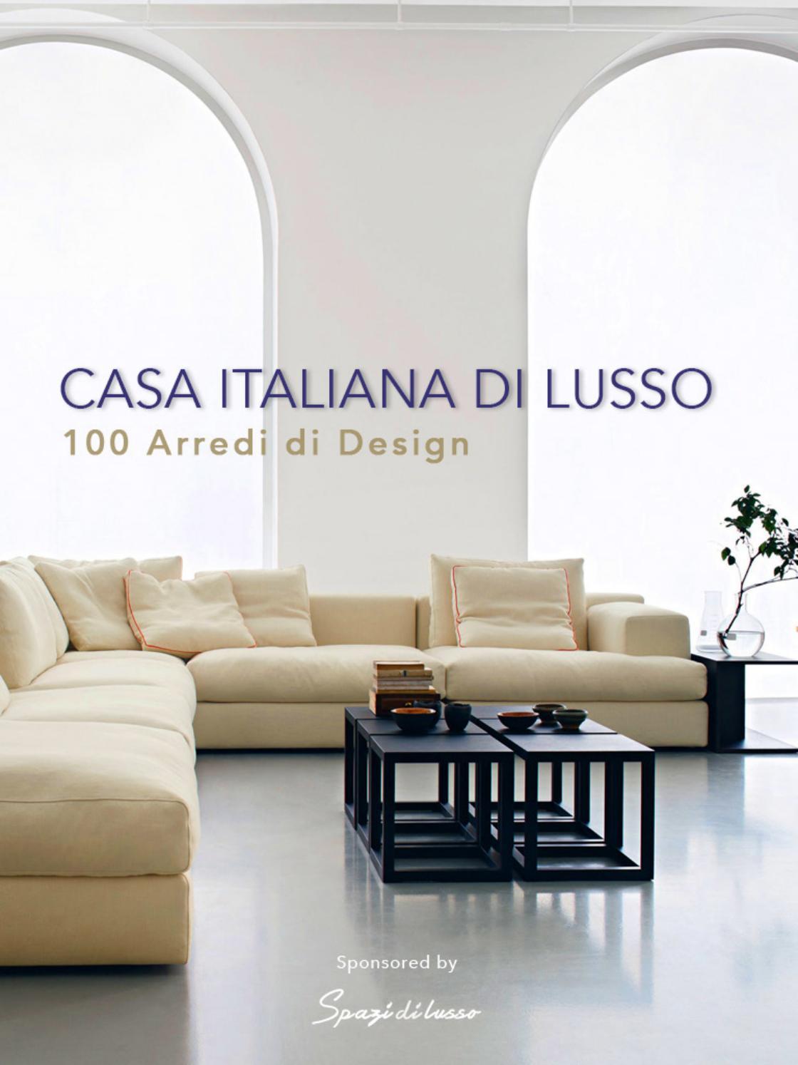 Arredamento Di Design ebook casa italiana di lusso –100 arredi di design by