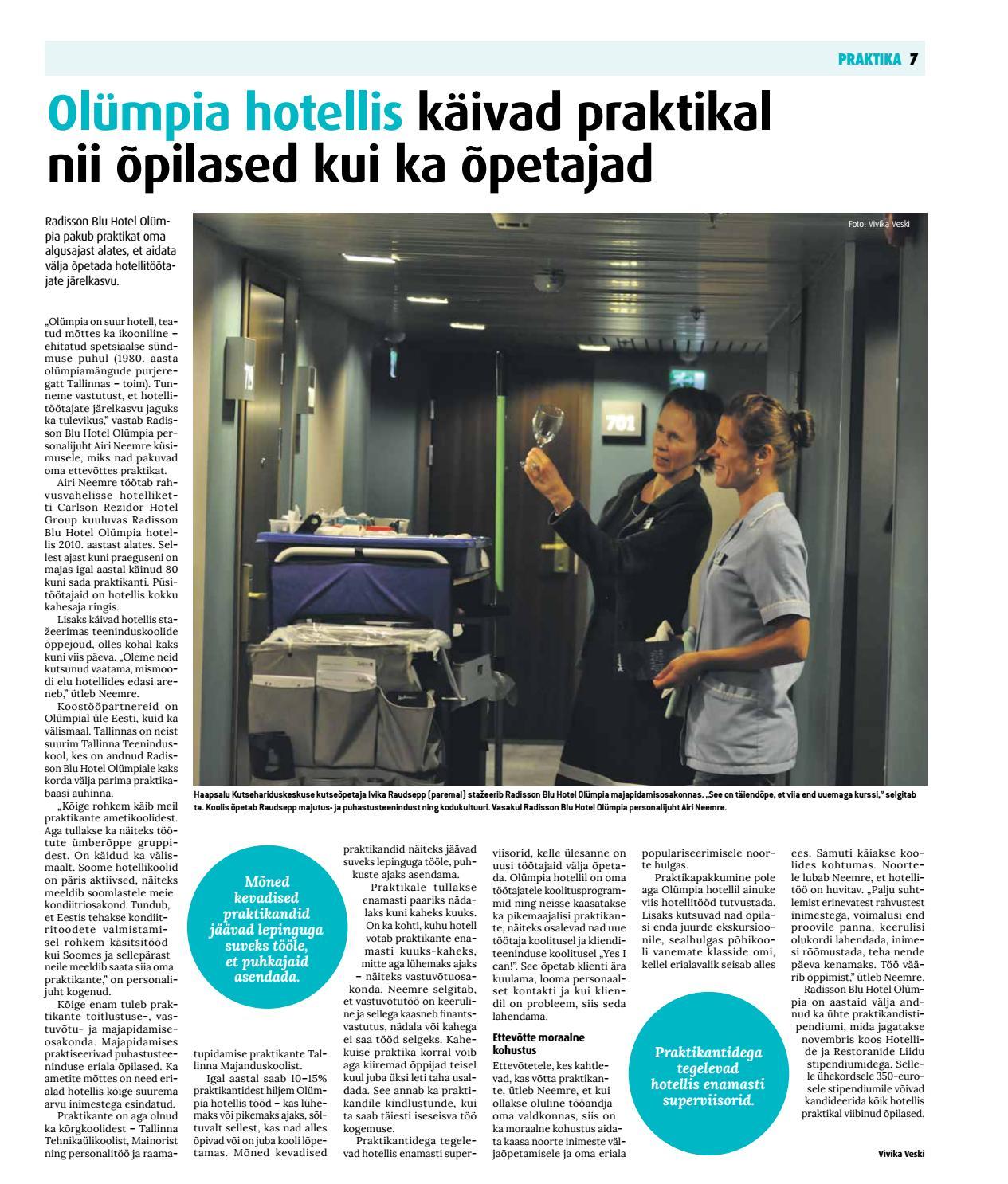 61afbed9a19 Praktika ja õpipoisiõpe (september 2016) by Eesti Päevalehe AS - issuu