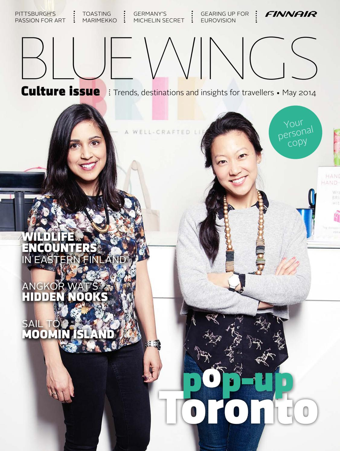 Blue Wings Culture issue May 2014 by Finnair_BlueWings - issuu