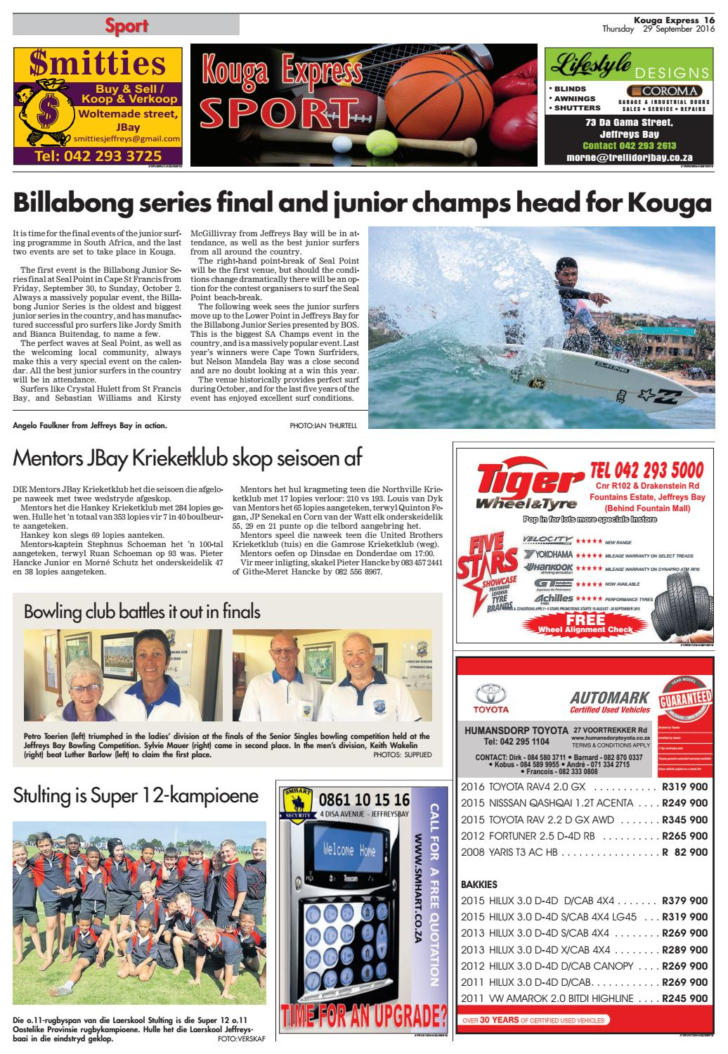 Kouga Express 29 September 2016 By Kouga Express Issuu