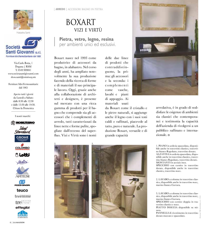 Boxart Accessori Bagno.La Maison Ottobre 2016 By Ten Advertising S R L Issuu