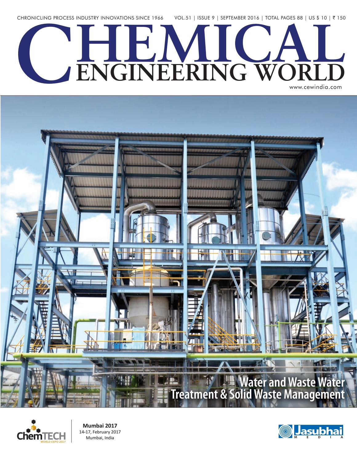 Cew September 2016 By Chemical Engineering World Issuu Wiring Harness Board Tooling Http Wwwbostonteccom Industrial