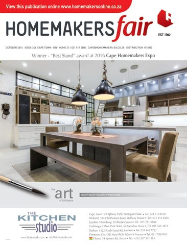 Expo Stands Cape Town : Homemakersfair cape town october 2016 by homemakers issuu