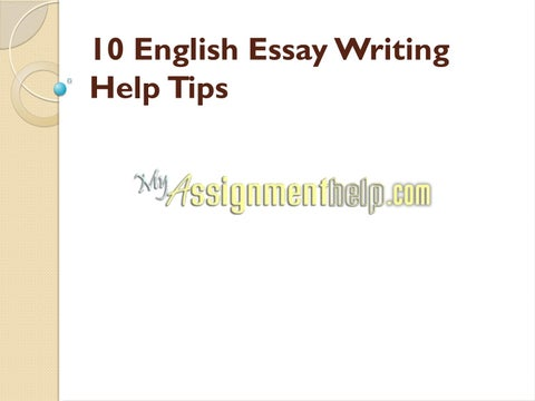English Essay Writing Help Tips By Myassignmenthelpcom  Issuu Page   English Essay Writing Help Tips