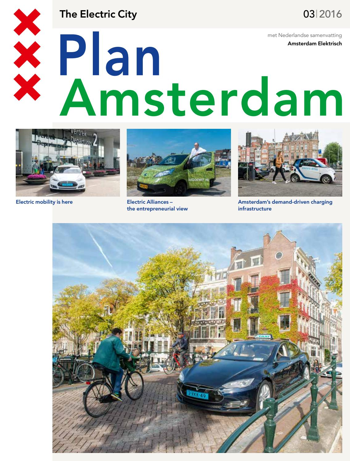 Plan Amsterdam The Electric City by Gemeente Amsterdam - issuu