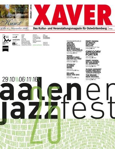 XAVER 10 I 2016 By Hariolf Erhardt   Issuu