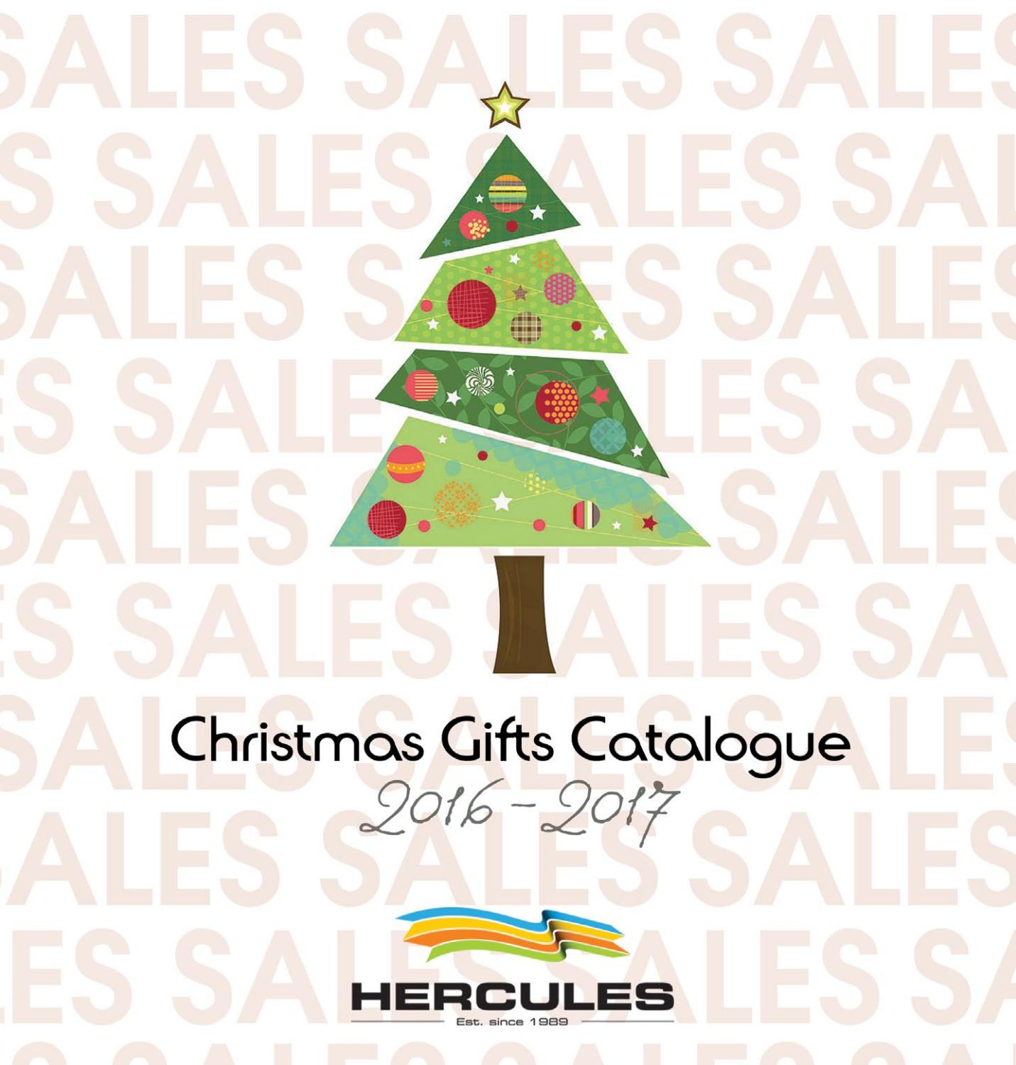 Christmas Gifts Catalogue 2016-2017 by Hercules Group - issuu