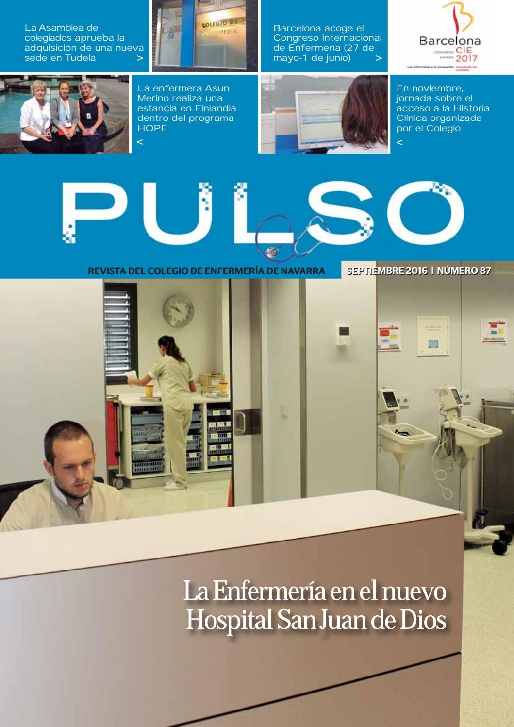 Pulso 87 by Colegio de Enfermería de Navarra - issuu