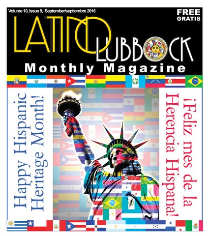 Free Civil Rights Webinar At 3pm 927 >> September Latino Lubbock Vol 10 Issue 9 By Christy Martinez Garcia