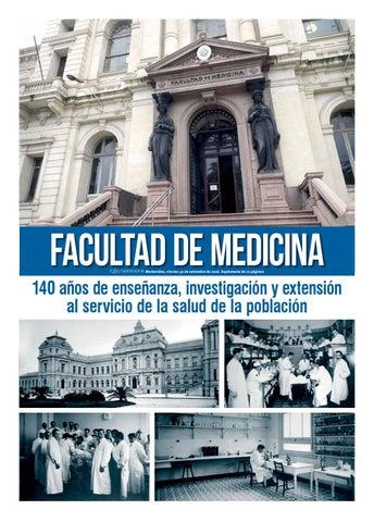 Suplemento Facultad de Medicina 2016 by Portal El Observador - issuu